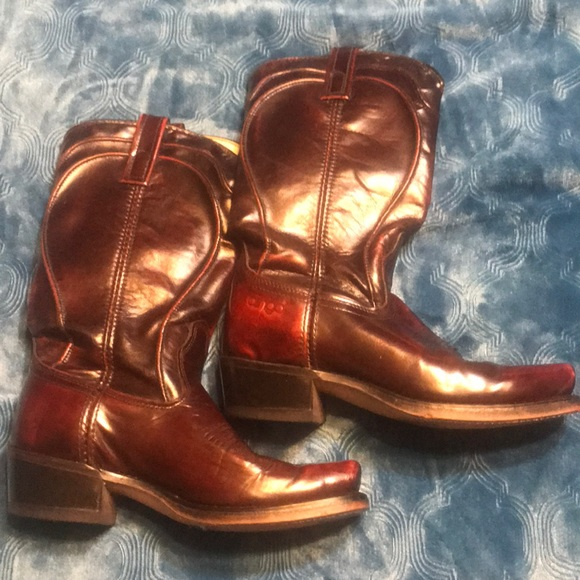 6b3dd1ad156 Dingo Square Toe Western Boots